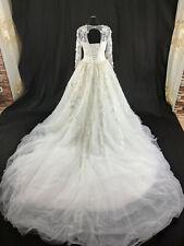 Luxus Brautkleid Hochzeitskleid weiß Kleid Braut