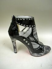 Apple Bottoms Signature Gladiator Platform Pumps - Size 8