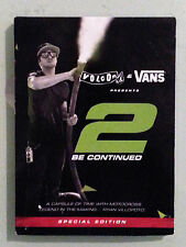 volcom & vans presents 2 BE CONTINUED  ryan villopoto   DVD