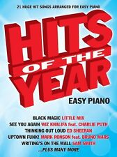 Hits of the year 2015 (easy piano)
