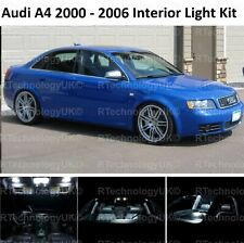 PREMIUM AUDI A4 S4 B6 2000 - 2006 LED INTERIOR UPGRADE KIT SET XENON WHITE