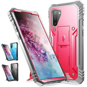 For Samsung Galaxy Note10 Phone Case Shockproof Protector Cover with Kickstand