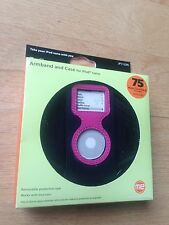 New Jensen Hot Pink & Black Sport Armband Case For iPod Nano 1G 2G 1st 2nd Gen