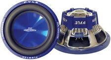 1 New Pyle PLBW84 8'' 600 Watt DVC Subwoofer Sub Car Audio