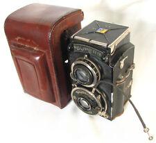 Voigtlander Superb TLR Film Camera 75mm F3.5 Skopar Lens Medium Format With Case