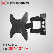 Full Motion Tilt Swivel LCD LED TV  Wall Mount Bracket 26 32 37 39 40 42