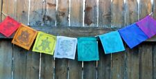 Small 8 Auspicious Symbols Prayer Flags, Nepal
