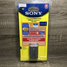 Authentic Genuine OEM SONY NP-FP70 Rechargeable Handycam Battery Pack 7.2v 9.8Wh
