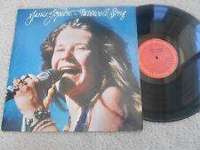Janis Joplin BLUES/R&R LP(COLUMBIA PC 37569) Farewell Song NM+ STEREO
