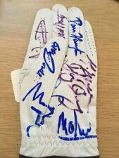Signed 2010 Ryder Cup Glove