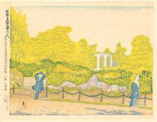 KOIZUMI KISHIO - Original 1930 Japanese Woodblock Print