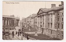 Dublin,Ireland,Trinity College,Trolley Cars,c.1909