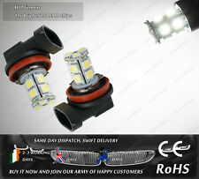 2x H11 6000k LED HID Fog Lights Xenon Bulbs DRL Lamps  Parking Position bULBS