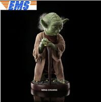 "33"" Statue Star Wars Bust 1/1 Yoda Jedi.Jedi Knight Action Figure Collectible"