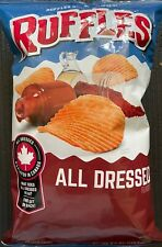 NEW RUFFLES ALL DRESSED FLAVORED POTATO CHIPS 8.5 OZ (240.9g) BAG BUY IT NOW