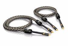 5, 00 M VIABLUE nf-s6 air argenté RCA RCA Cable RCA 5,0M 5M (1 paire)