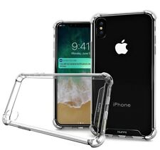 For Apple iPhone X Case Slim Shockproof TPU Protective Cover Bumper HD Clear
