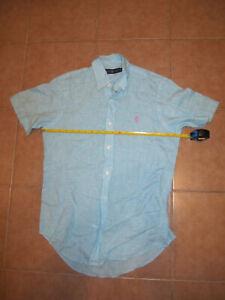 Ralph Lauren polo men's shirt Sz-S Linen  100% authentic