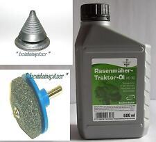 Rasenmäherpflege Rasenmäher Auswuchtkegel Rasenmesserscharfer Rasenmäheröl