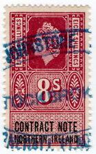 (I.B) Elizabeth II Revenue : Contract Note (Northern Ireland) 8/-