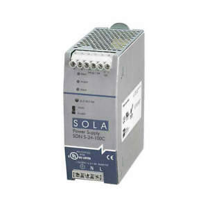 SOLA/HEVI-DUTY SDN5-24-100C DC Power Supply,24VDC,5A,60Hz