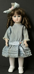 Porcelain Reproduction Of Antique French Jumeau Doll