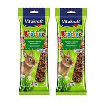 Rabbit Treat x2 Vegetable &  Beetroot Packs of 2 Sticks Tasty Food  VITAKRAFT