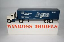 Winross 1982 Old Toyland Shows Semi Truck, Nice with Original Box