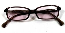 Alain Mikli Women's paris eyeglasses brown new handmade in France