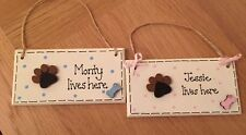 Dog Personalised Decorative Indoor Signs/Plaques