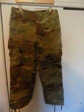 Army MULTICAM OCP Camo Unisex Combat Pants MEDIUM X-Short  WORN ONCE