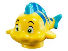 LEGO® Disney Flounder Fish Minifig Minifigure Little Mermaid From Set 41145