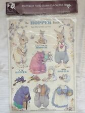 New Listing1989 Hopper Family Bunny Rabbit Paper Dolls