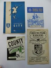 More details for northampton town | 1961/1962 | 4 aways | coventry, halifax, notts co, qpr