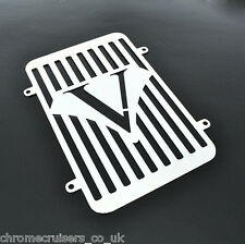 KAWASAKI VN 900 VULCAN CLASSIC BRAND NEW CHROME RADIATOR COVER GRILL GUARD (RS)