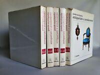 Grande enciclopedia antiquariato e arredamento Editalia 5 volumi 1967-1968