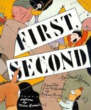 First, Second by Daniil Kharms 1996 Hardcover Marc Rosenthal Illustrated