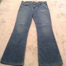 Levis 515 Womens Jeans Size 6 S Boot Cut Light Wash Denim WB1