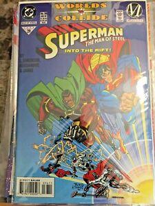 Superman: Man of Steel #36 (DC) Worlds Collide
