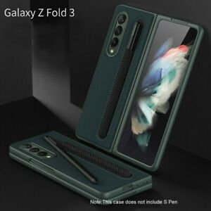 Anti-fall S Pen Fold Edition Case with S Pen Holder For Samsung Galaxy Z Fold 3