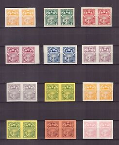 Lettland nice collection Archiv proofs 19 pairs Rarely offered for specialists!!