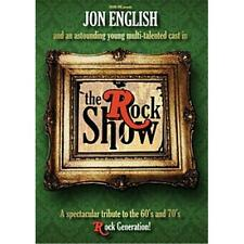 JON ENGLISH The Rock Show 2DVD BRAND NEW PAL Region 0