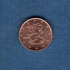 Finlande 1999 1 centime d'euro SUP SPL Pièce neuve de rouleau - Finland