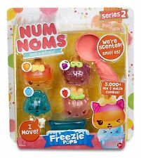 Num Noms Series 2 Scented 4-Pack Freezie Pops NEW SEALED