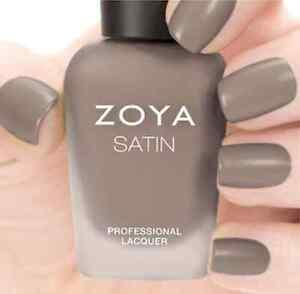 ZOYA ZP779 ROWAN Naturel Satins Collection ~ suede taupe matte nail polish *NEW
