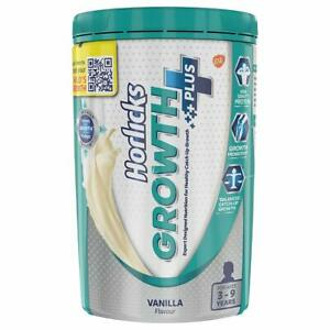 Health& Nutrition Drink Of Horlicks Growth Plus (400g,VanillaFlavor ) For 3-9Yrs