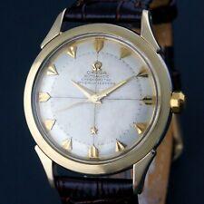 Rare 1952 Omega Globemaster Constellation Chronometer Gold Capped Chronometre NR
