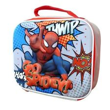 Lunch Insulated Bag New Official Marvel Spiderman Go Spidy 3D Eva School - Muti