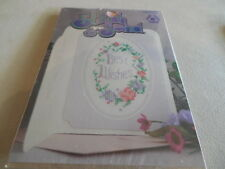 New STITCH & SEND Greeting CARDS Counted Cross Stitch KITS Best Wishes