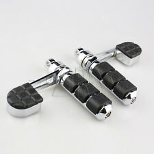 Heel Rest Male Mount Foot Pegs For Harley Davidson Dyna Sportster XL Softail